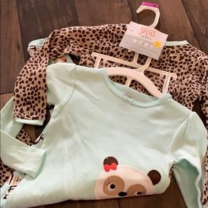 4 piece carter Pajama set